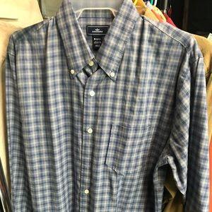 Docker's size medium shirt. Blue and white. EUC!